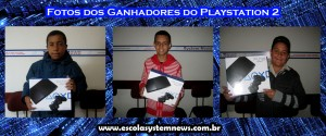ganhadores do playstation2